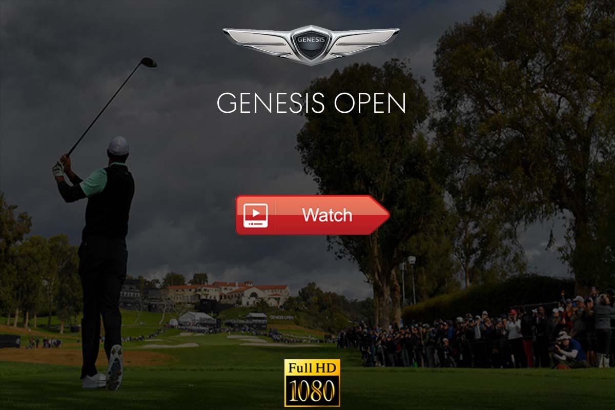 Genesis Open live stream Reddit