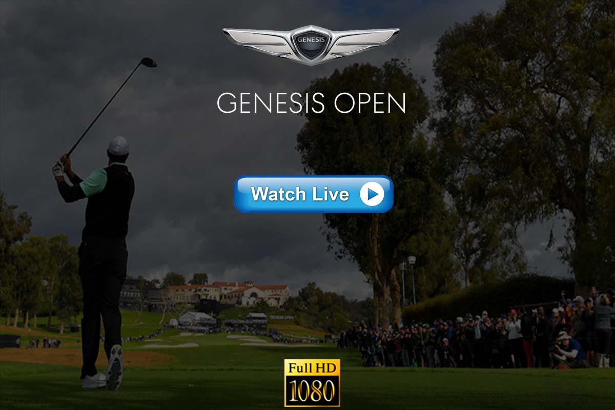 Genesis Invitational live streaming Reddit