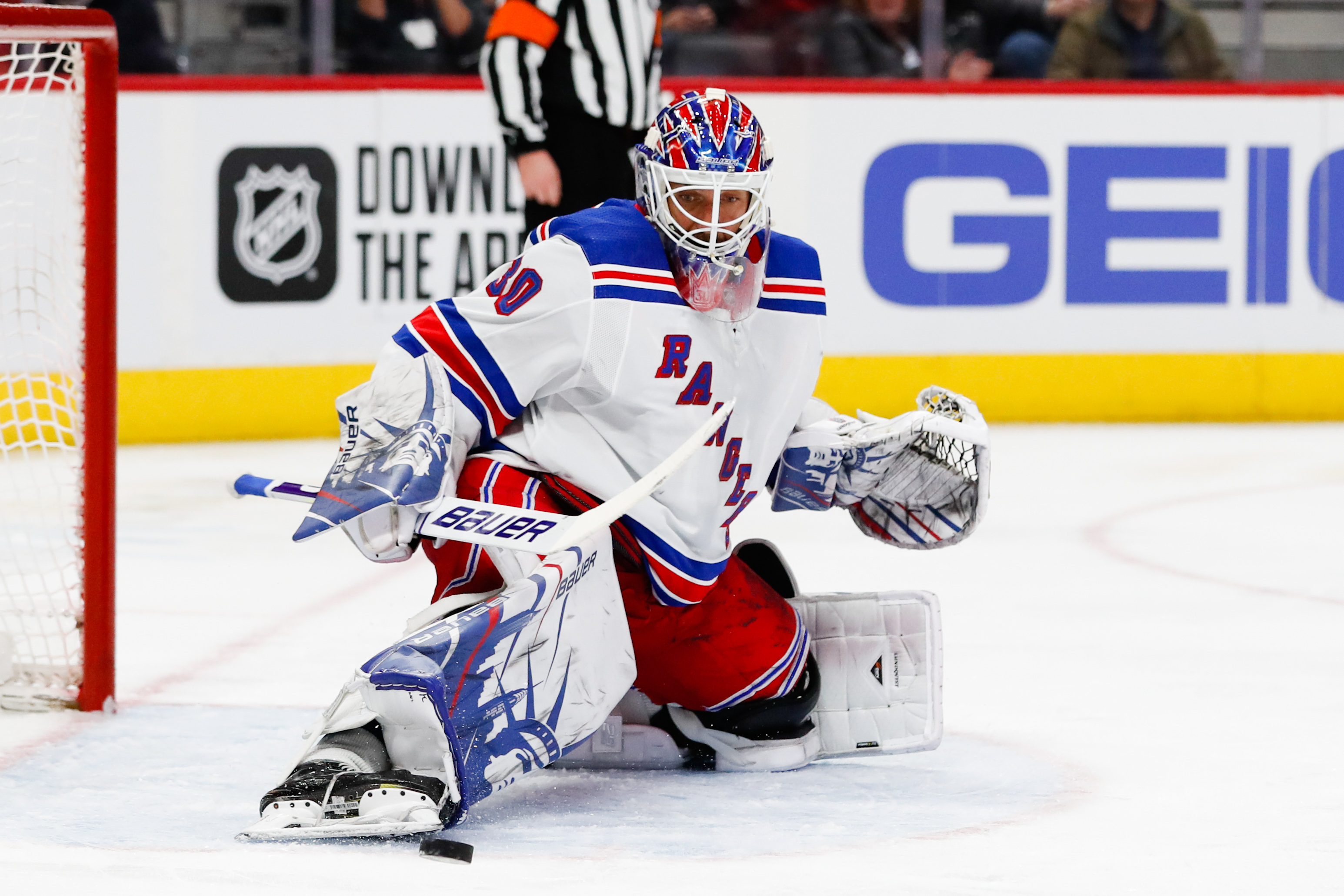 Rangers to retire number 30 jersey of Henrik Lundqvist