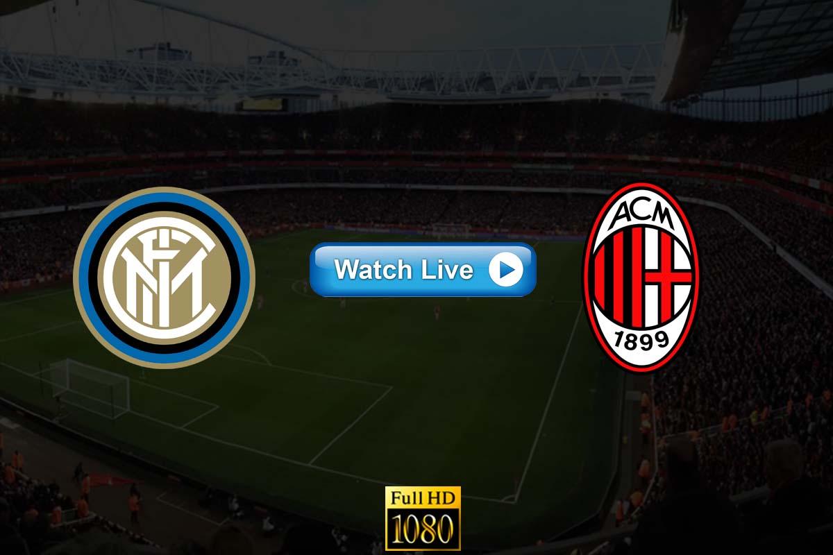 AC Milan vs Inter Milan live streaming Reddit