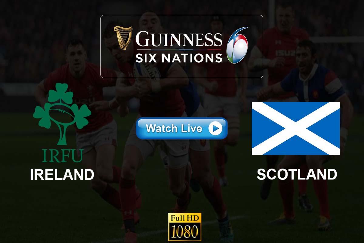Ireland vs Scotland Live Streaming Reddit