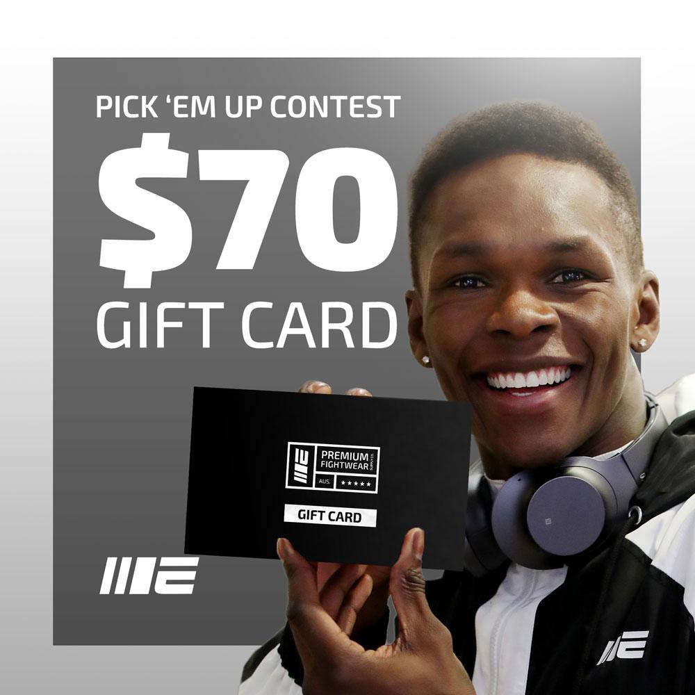 UFC 254 Pick 'Em Contest