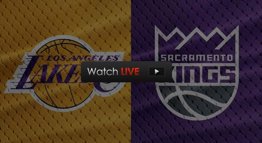 Lakers vs Kings live streaming Reddit