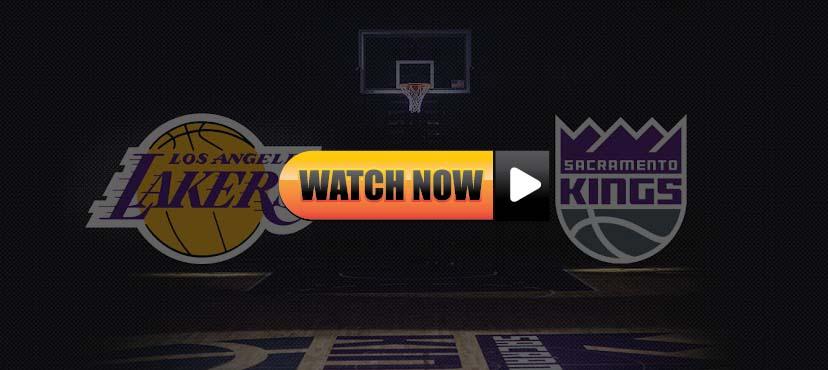 Lakers vs Kings live stream Reddit