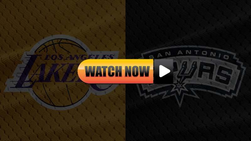 Lakers vs Spurs Live Stream Reddit