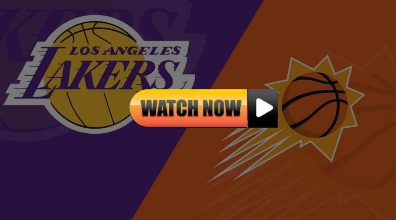Lakers vs suns live stream Reddit