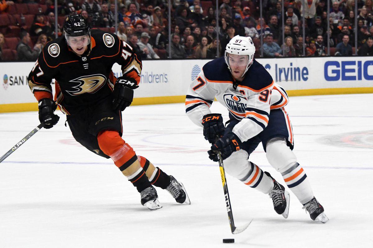 Oilers Gameday: @ Ducks