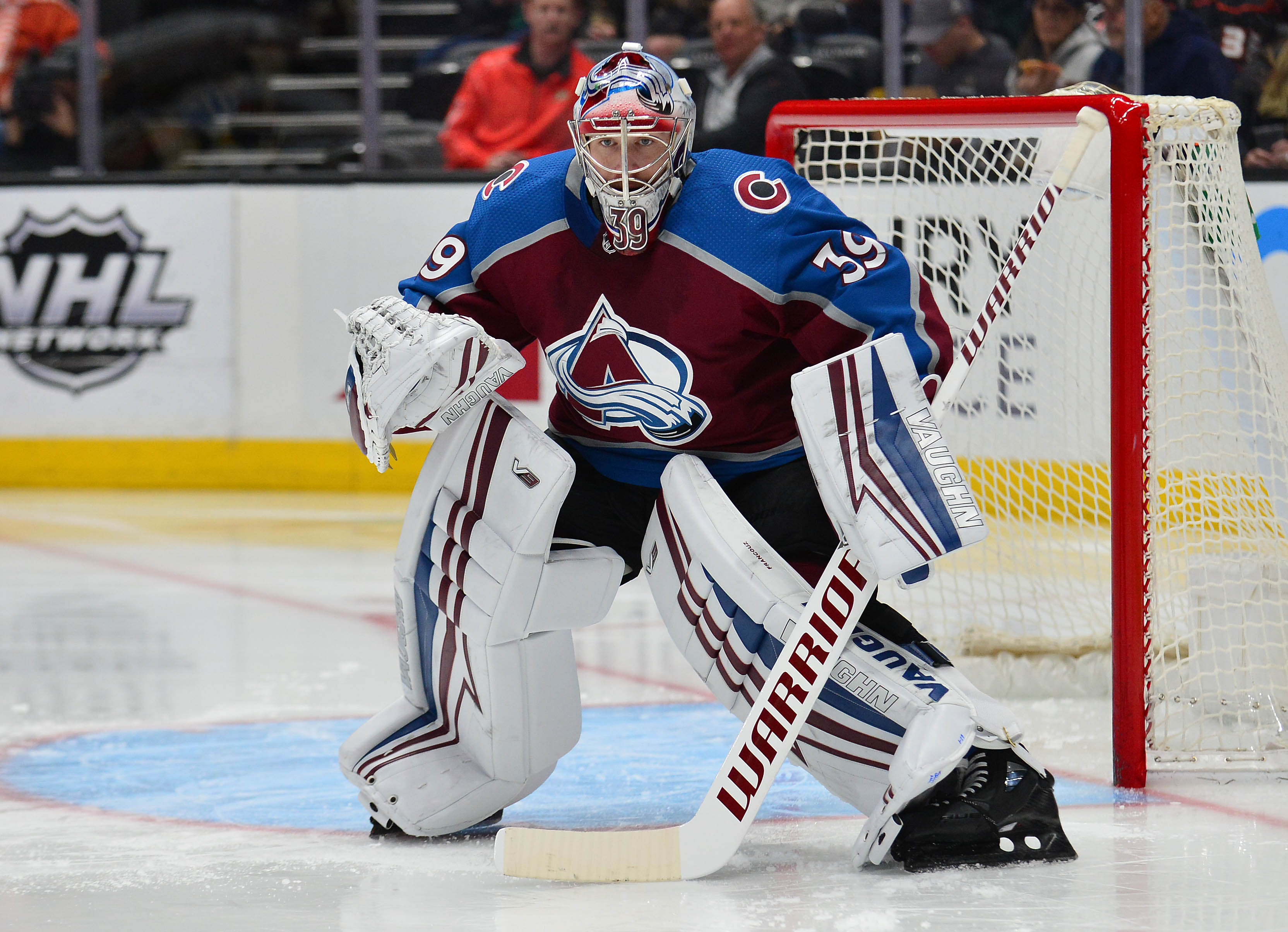 Pavel Francouz records his first career shutout