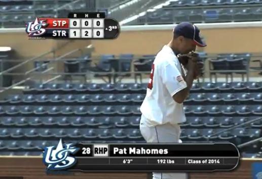 Watch Patrick Mahomes' insane Team USA baseball highlights video