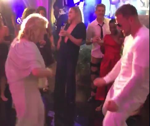 JJ Watt dances with his own grandma at wedding with girlfriend Kealia Ohai