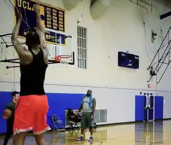Video of Kevin Durant draining jumpers shows Achilles injury recovery progressing well