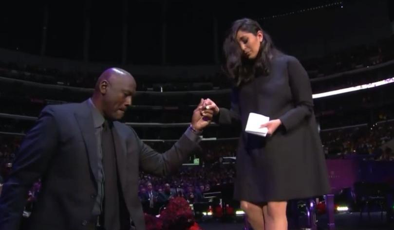 Vanessa Bryant eulogizes Kobe with emotional, tear-jerking speech