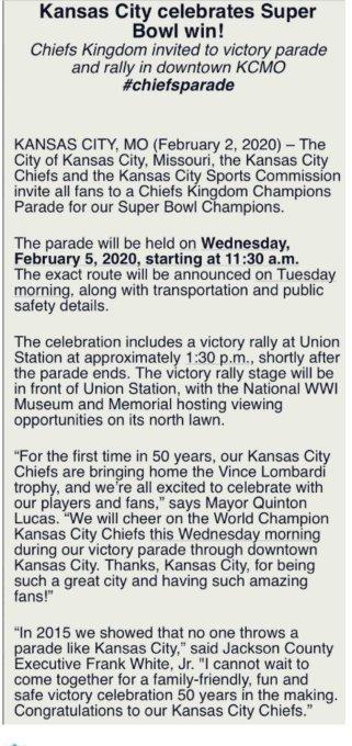 Chiefs Reddit Super Bowl parade live