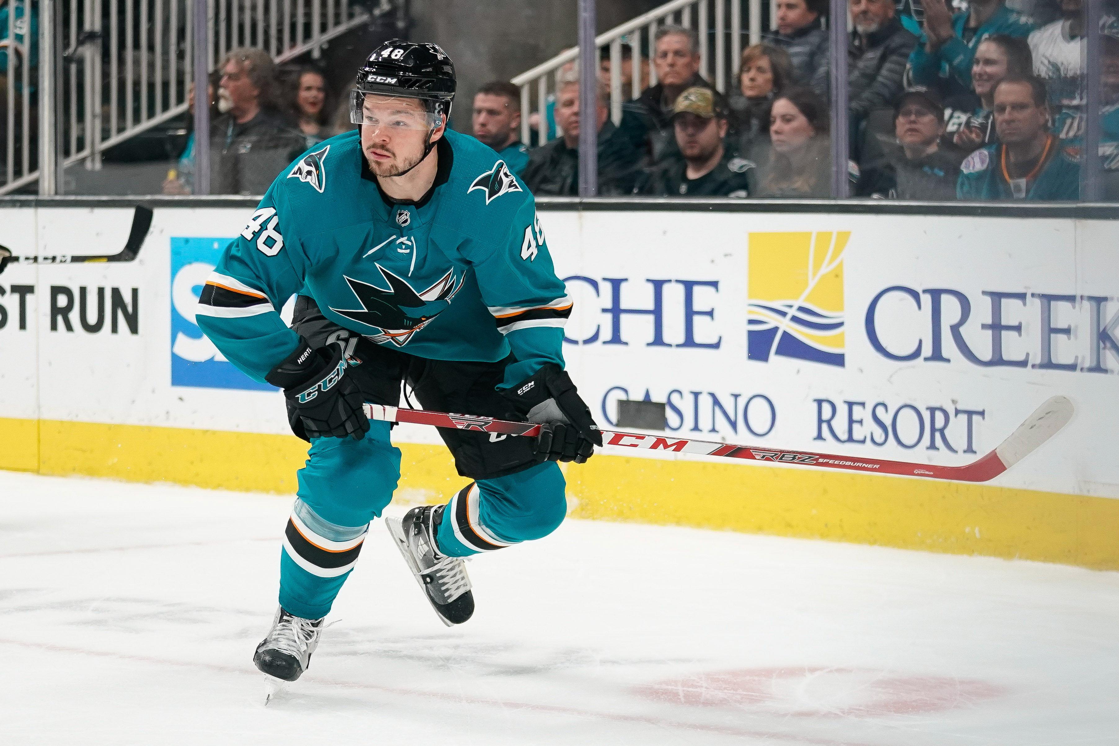 Tomas Hertl injury could cost the San Jose Sharks their season
