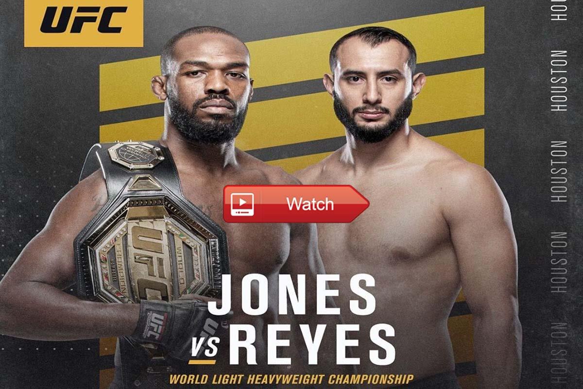 UFC 247 live stream Reddit