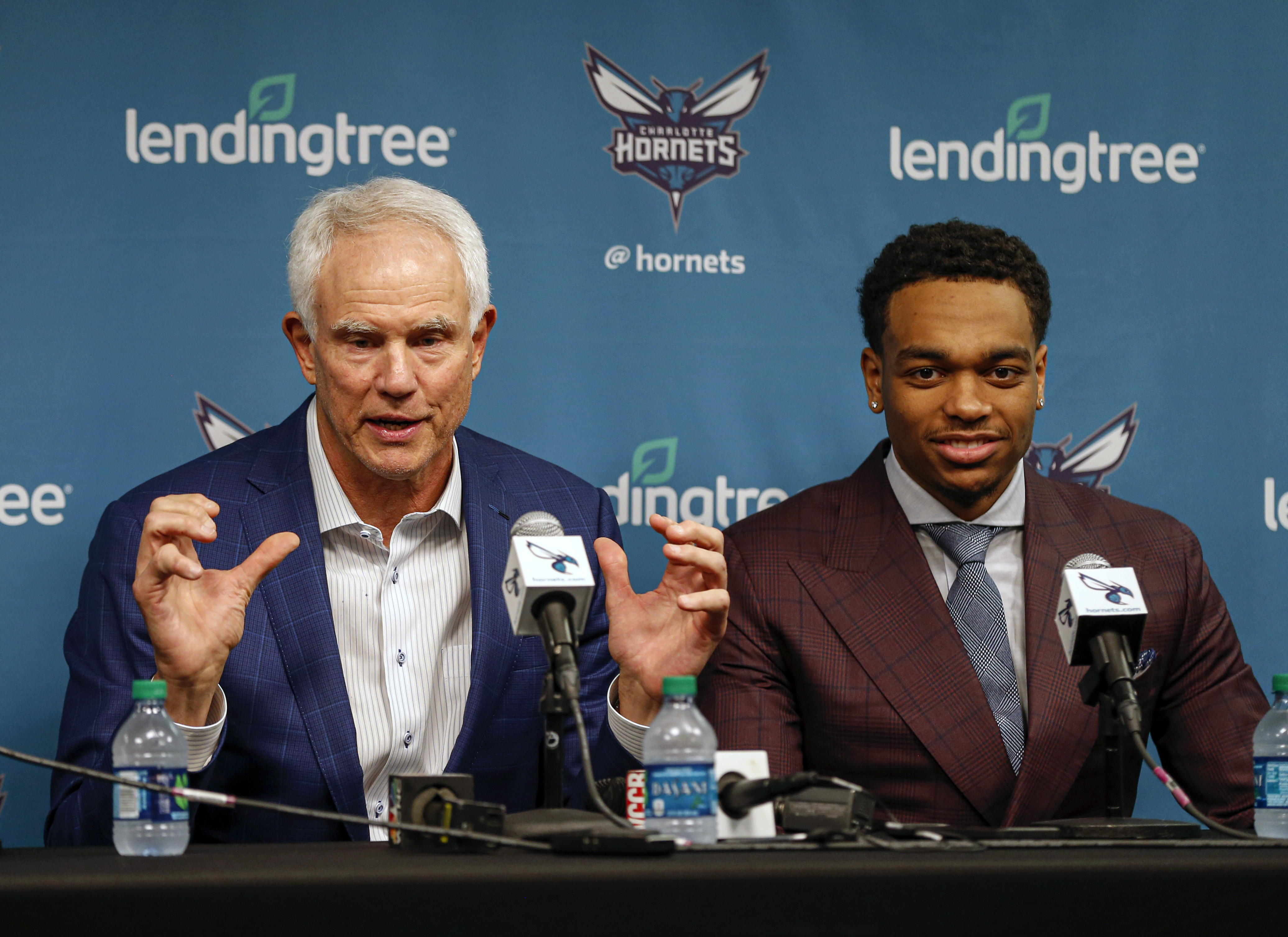 Hornets GM Mitch Kupchak claims Michael Jordan is '100 percent on board' with team's long-term plan