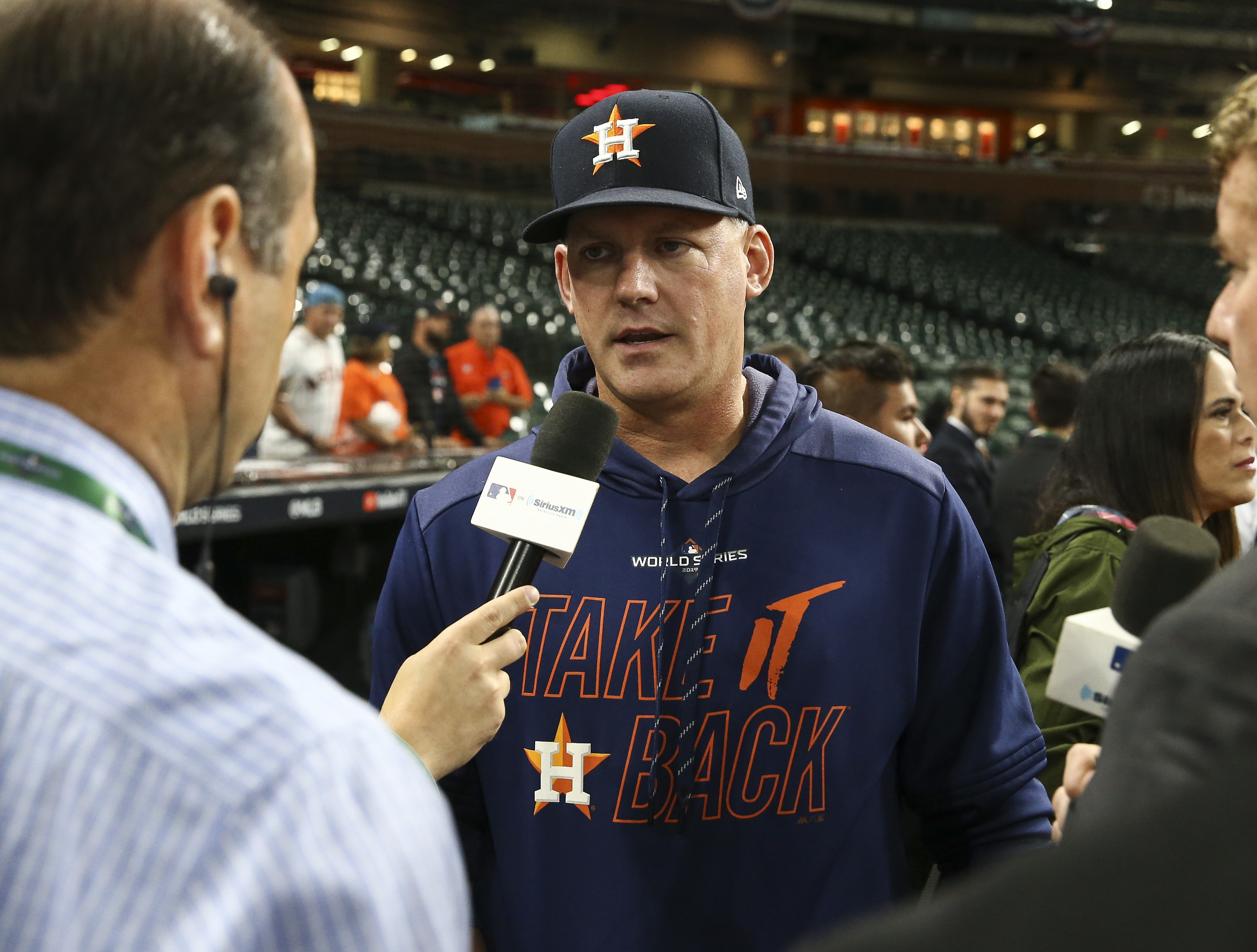 AJ HInch actually believes that the Astros' sign stealing may not have helped them gain much of an advantage