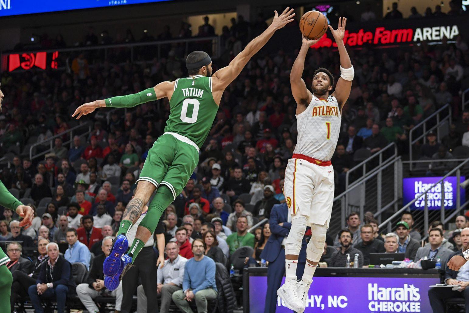 Recap: Celtics beat Hawks in fast-paced shootout