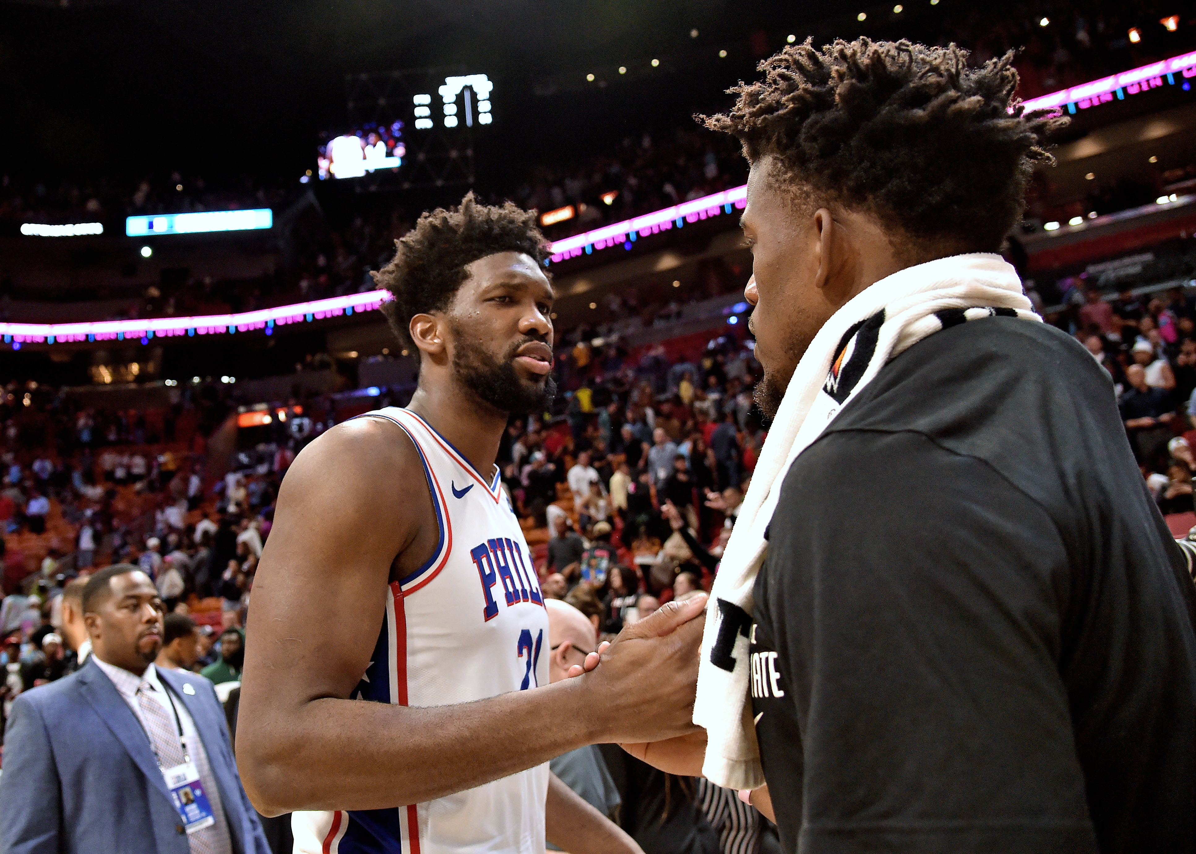 Jimmy Butler invites Joel Embiid to join him on Heat with Instagram activity