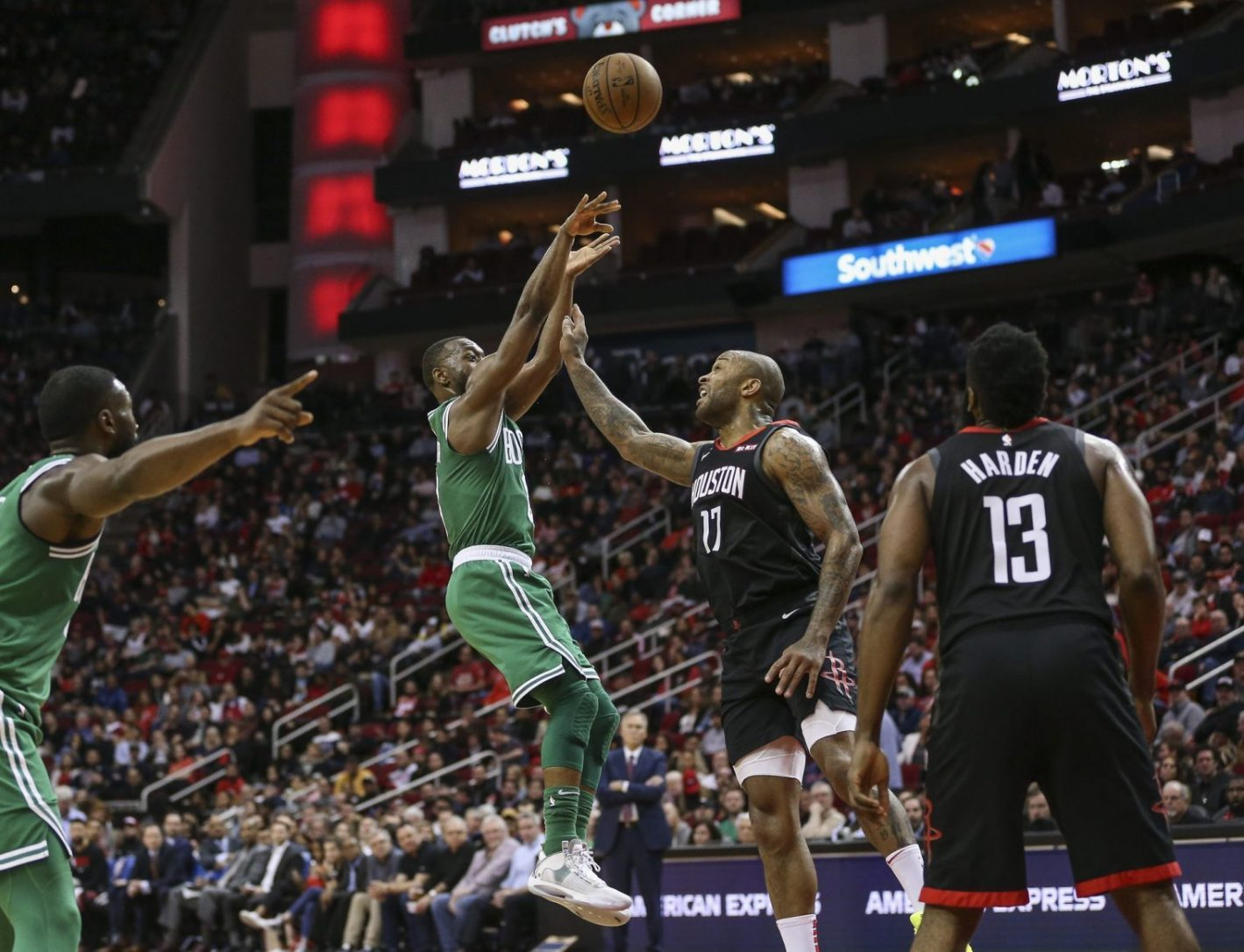 Rapid Recap: Celtics get lost in the sauce, fall to Rockets