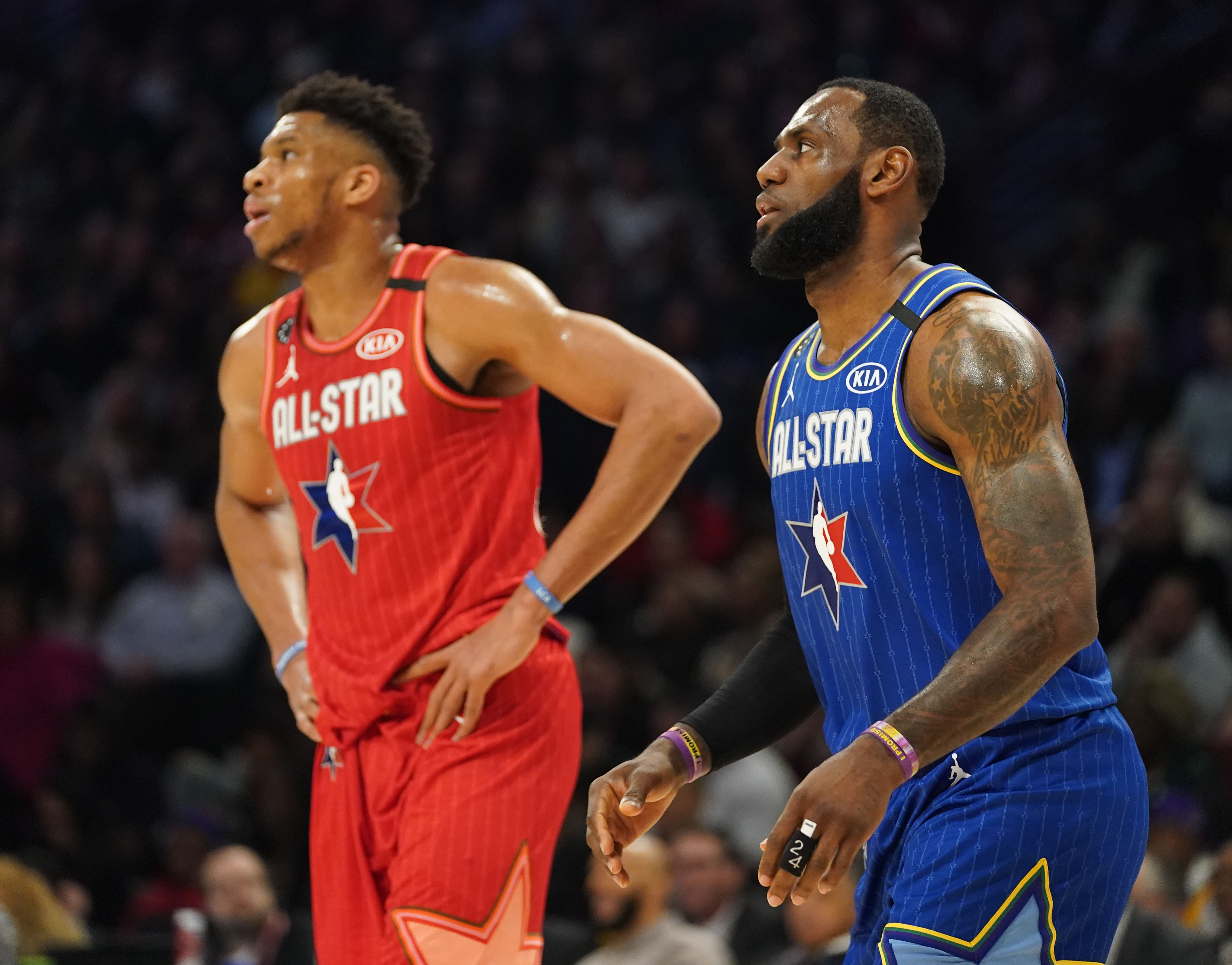 Giannis Antetokounmpo shares funny offensive strategy involving attacking James Harden in All-Star Game