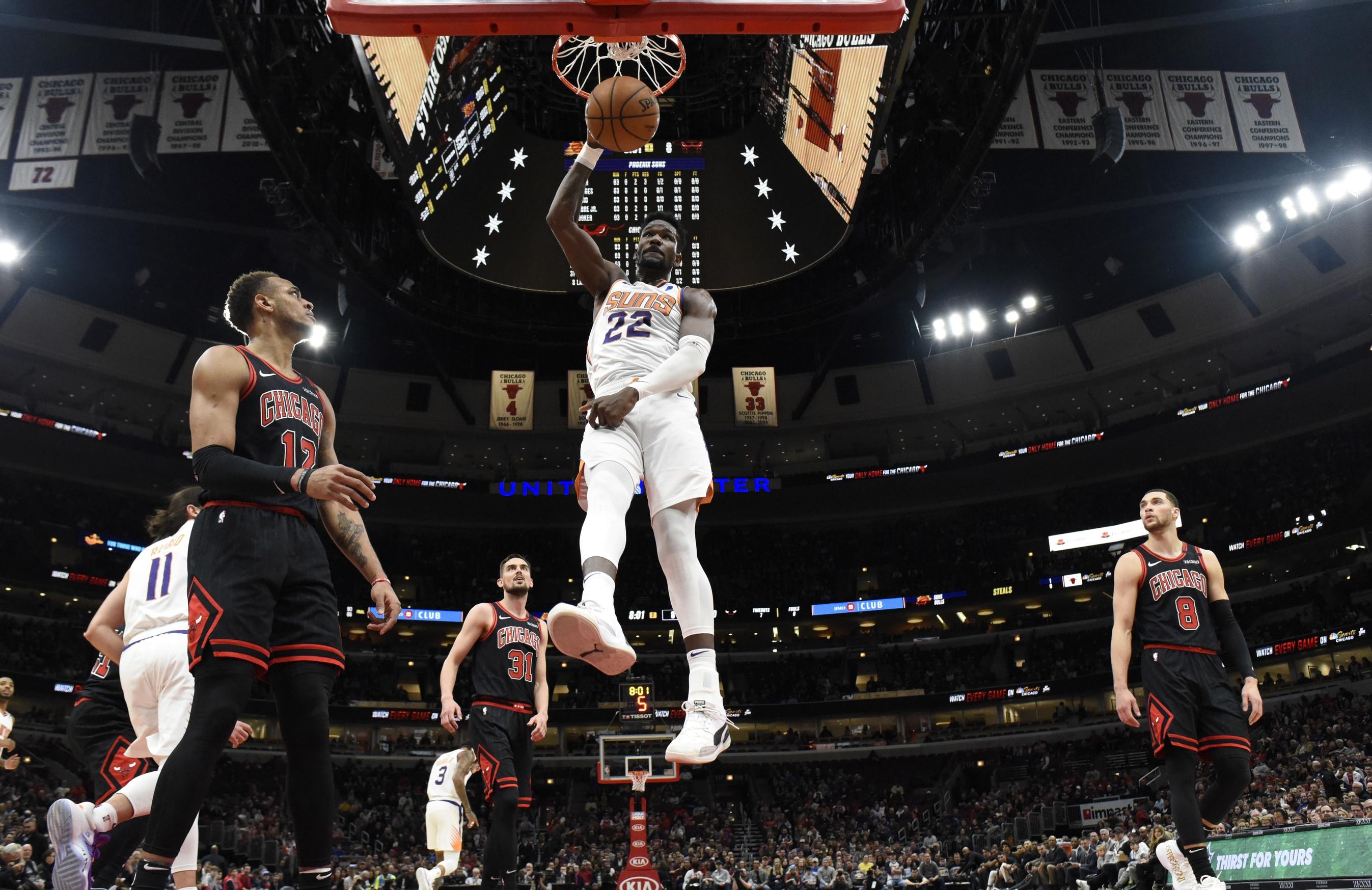 NBA Fantasy Stud of the Night: Deandre Ayton