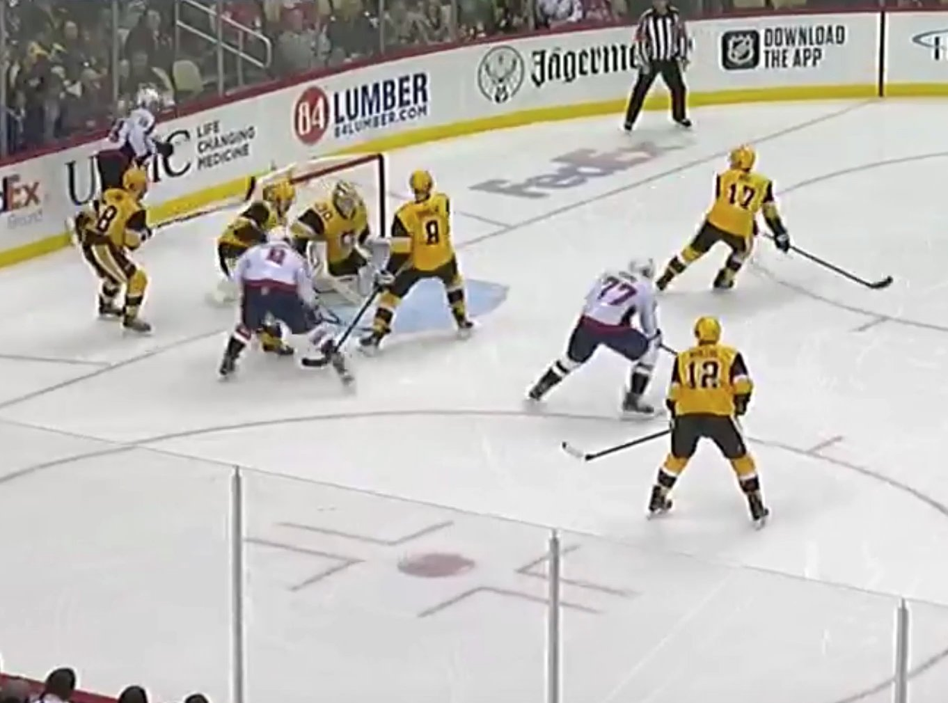 RECAP 67: Coming Down. Penguins 2 Game Win Streak Snapped, Fall to Capitals 5-2