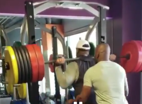 Video of Trent Williams working out, boxing shows he's in shape ahead of possible trade