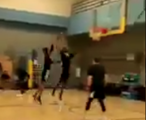 Video of Kevin Durant dunking all over player shows Achilles is looking strong