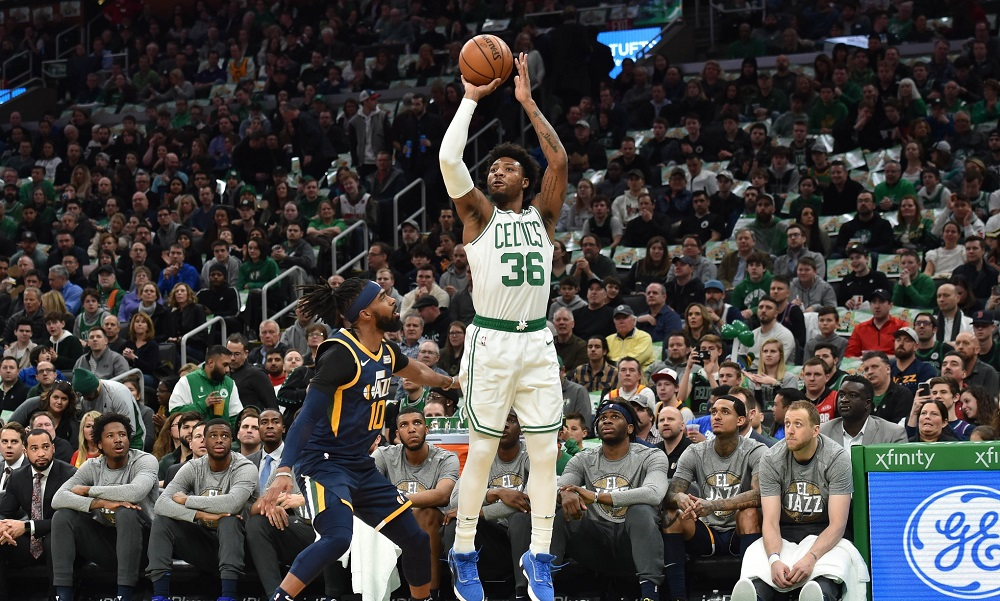 Rapid Recap: Celtics can't make shots, fall to Jazz, 99-94