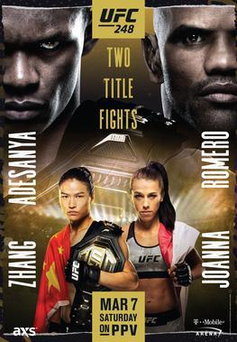 UFC 248: Adesanya vs Romero Results