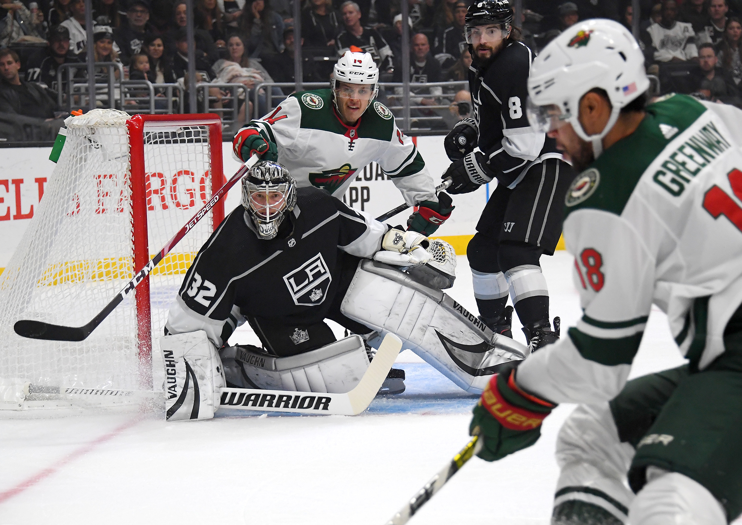 Defensive letdowns prove costly to Wild in 7-3 loss to Kings