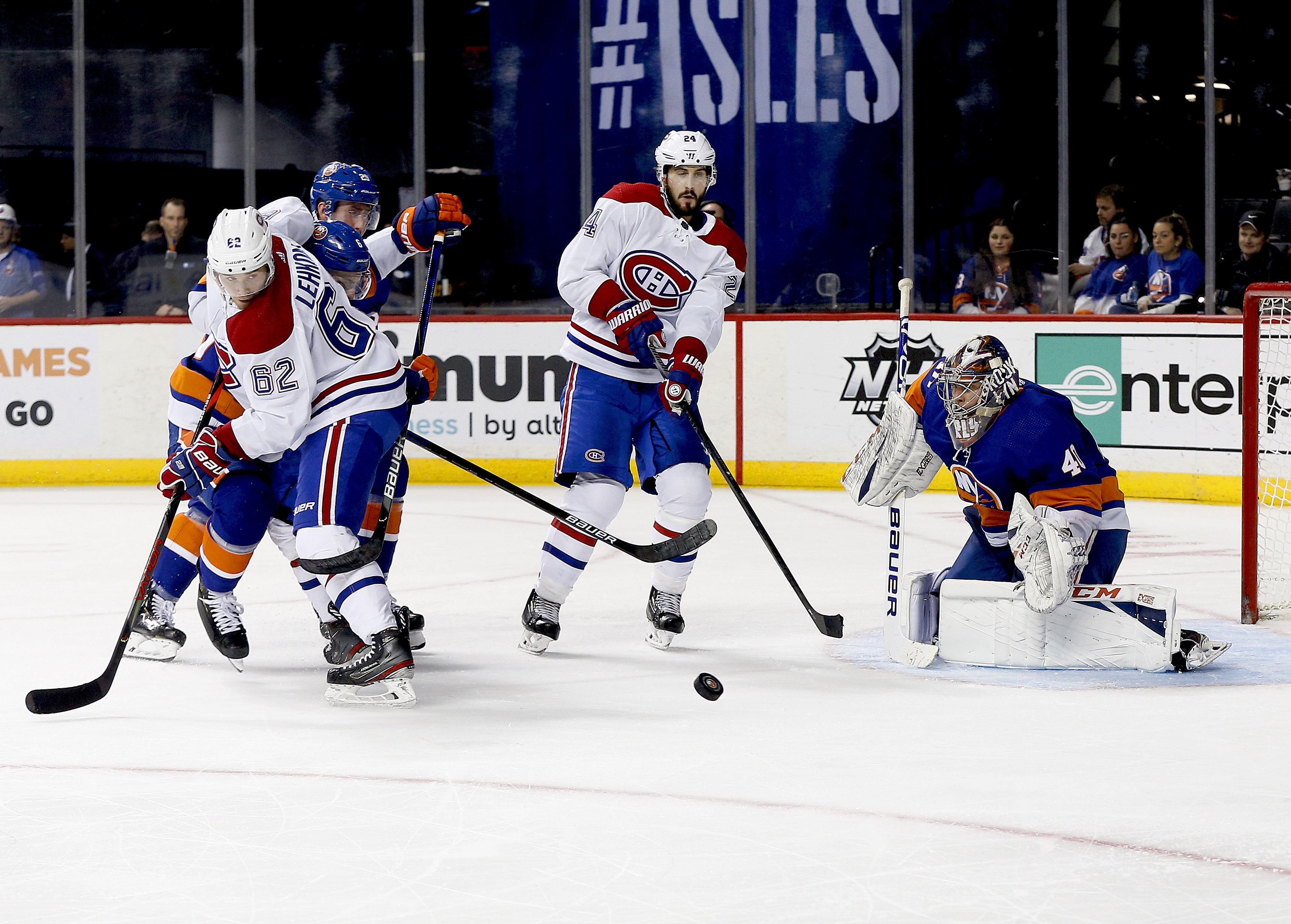 Three takeaways from the Islanders' 6-2 loss to the Canadiens