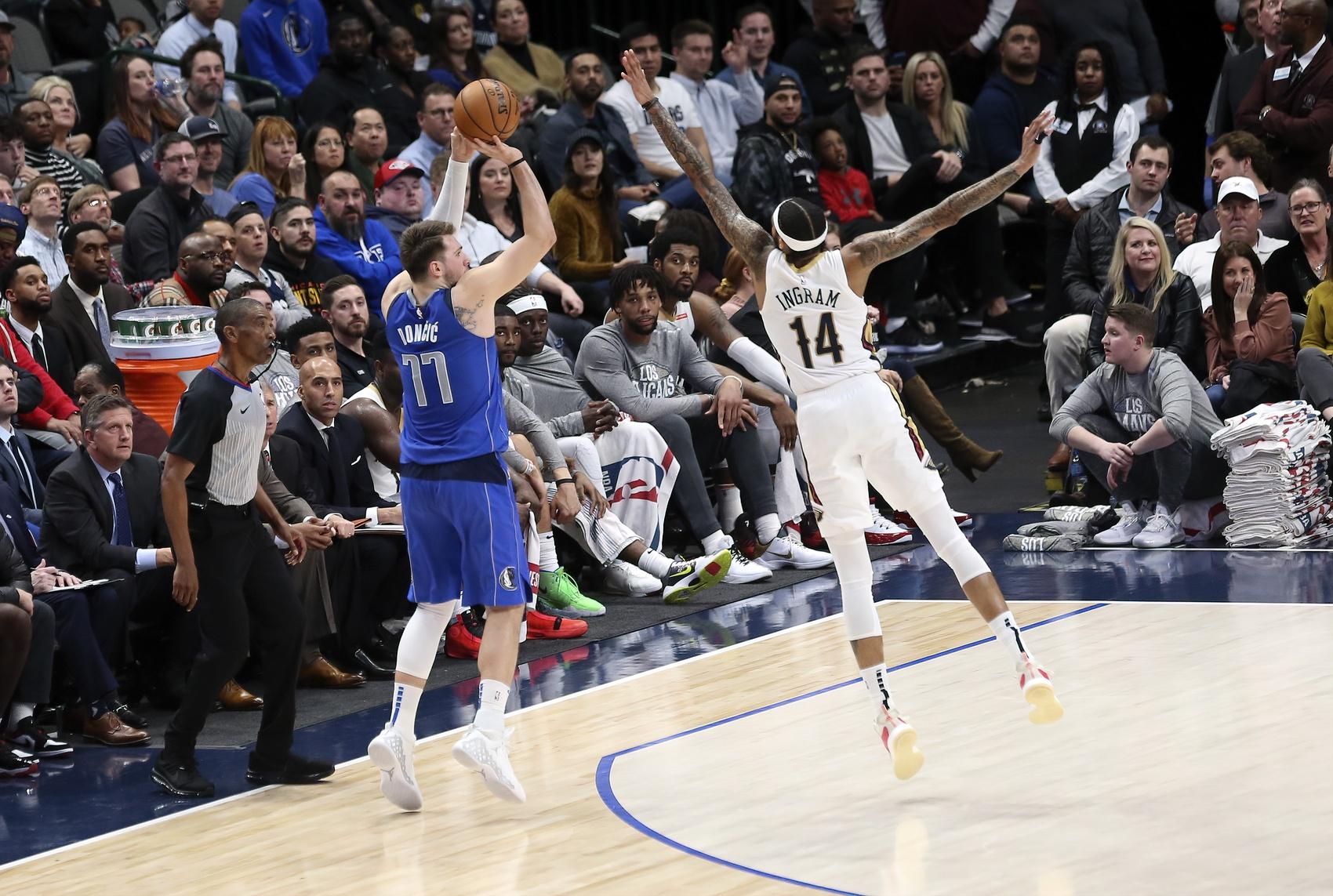 NBA Fantasy Stud of the Night: Luka Doncic