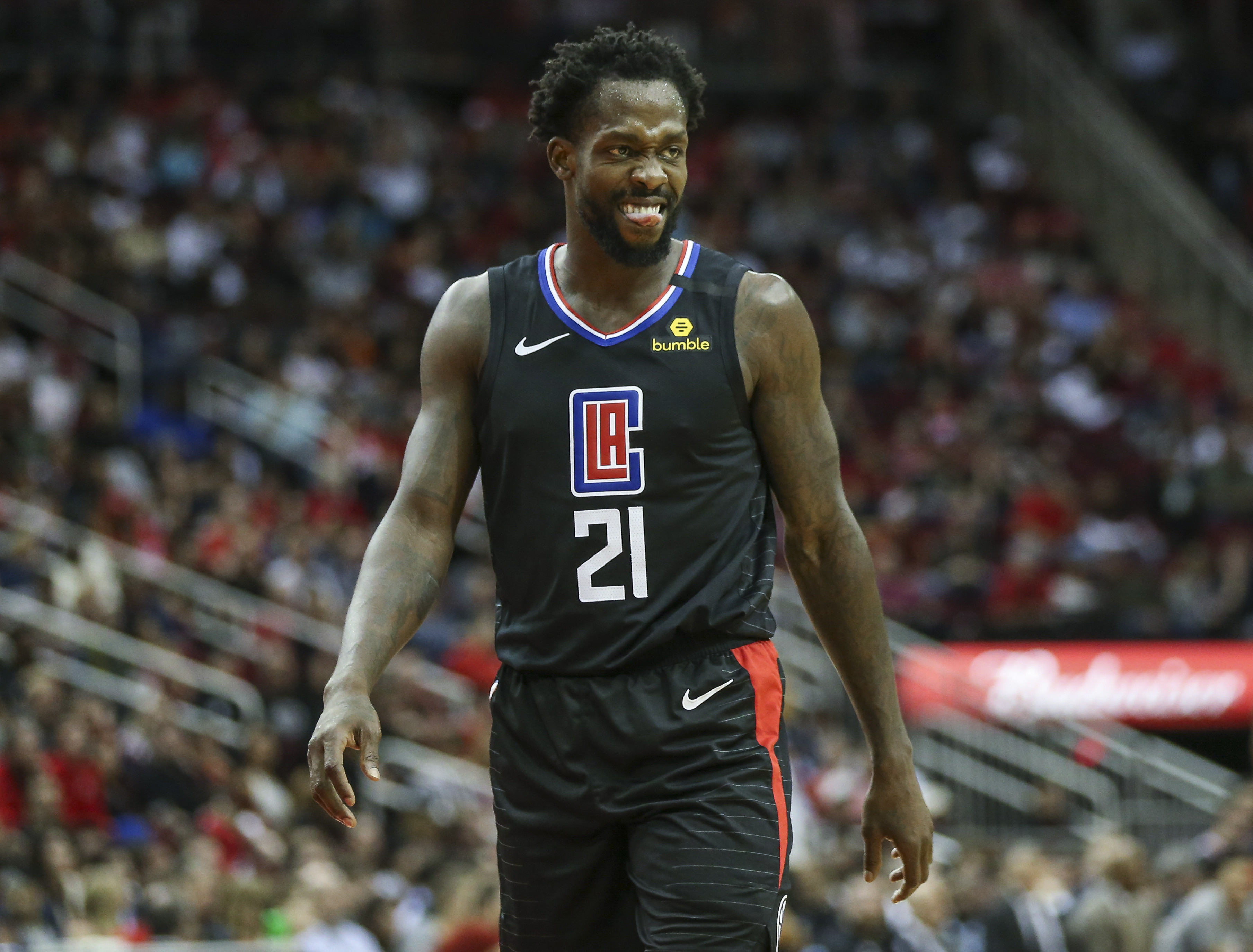 Patrick Beverley throws shade at LeBron James after loss