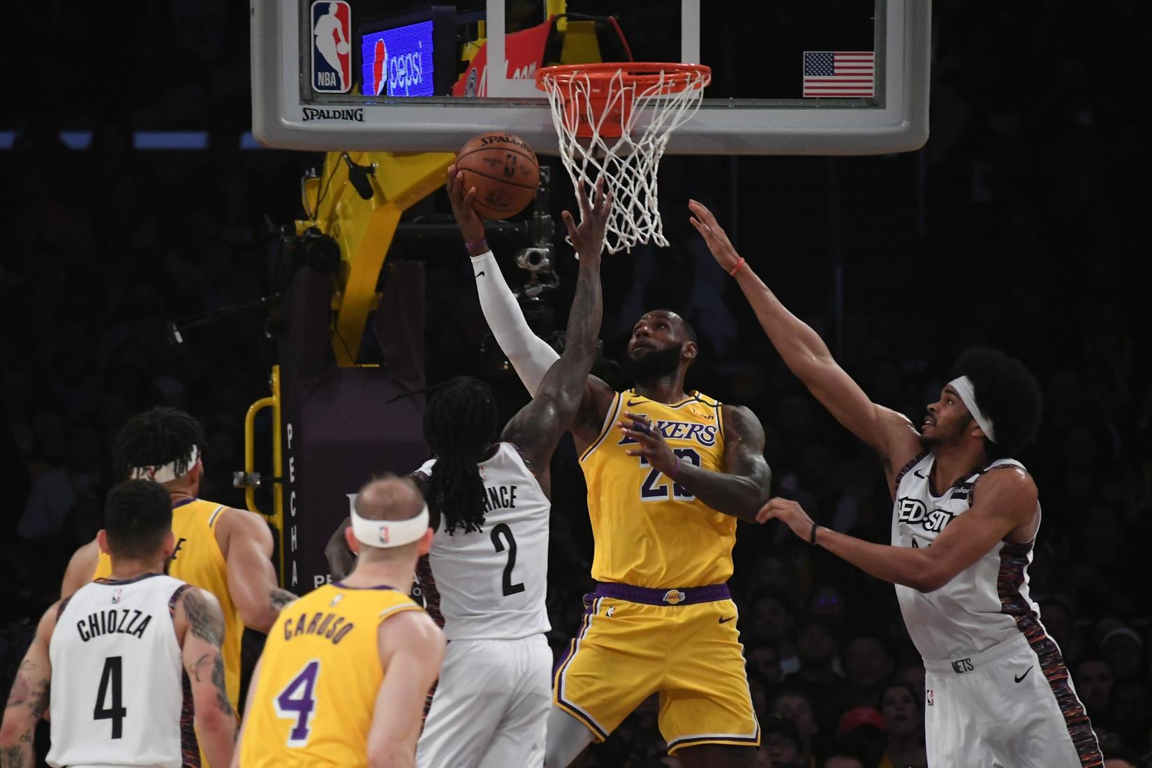 NBA Fantasy Stud of the Night: LeBron James