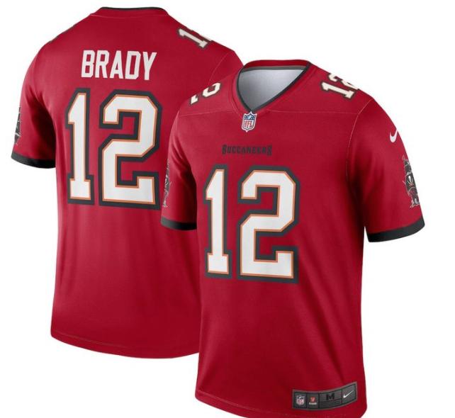 Look: Tom Brady's Bucs jerseys now released, with team's new uniforms looking fresh