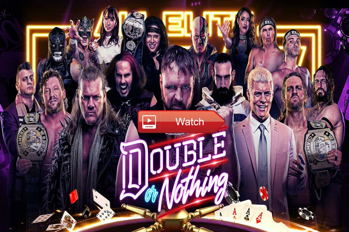 AEW Double or Nothing live stream reddit