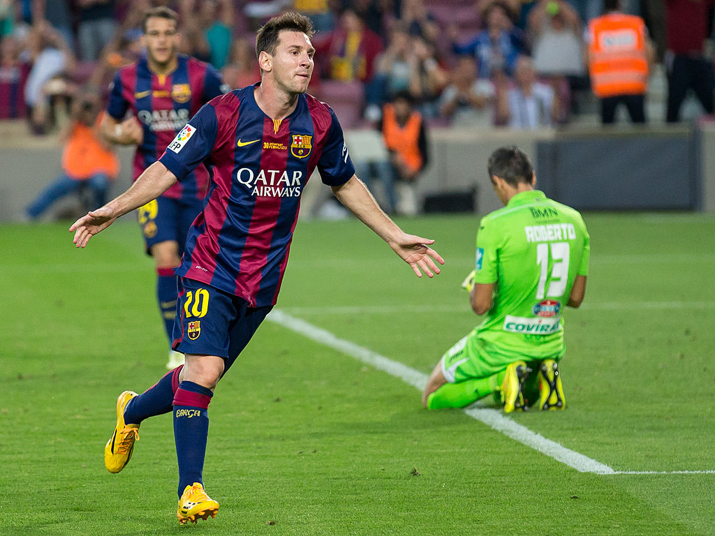 Lionel Messi extends La Liga record by scoring 20+ goals in 12 straight seasons