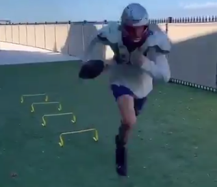 Look: Tom Brady shows off new workout training 'facility'