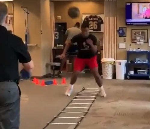 Tua Tagovailoa shows off rehab progress in private workout video