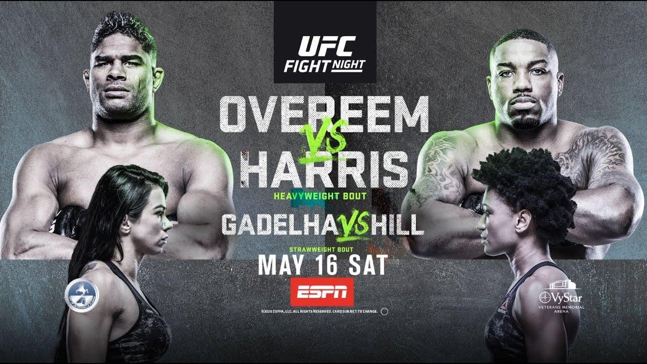 UFC Fight Night: Overeem vs Harris Results