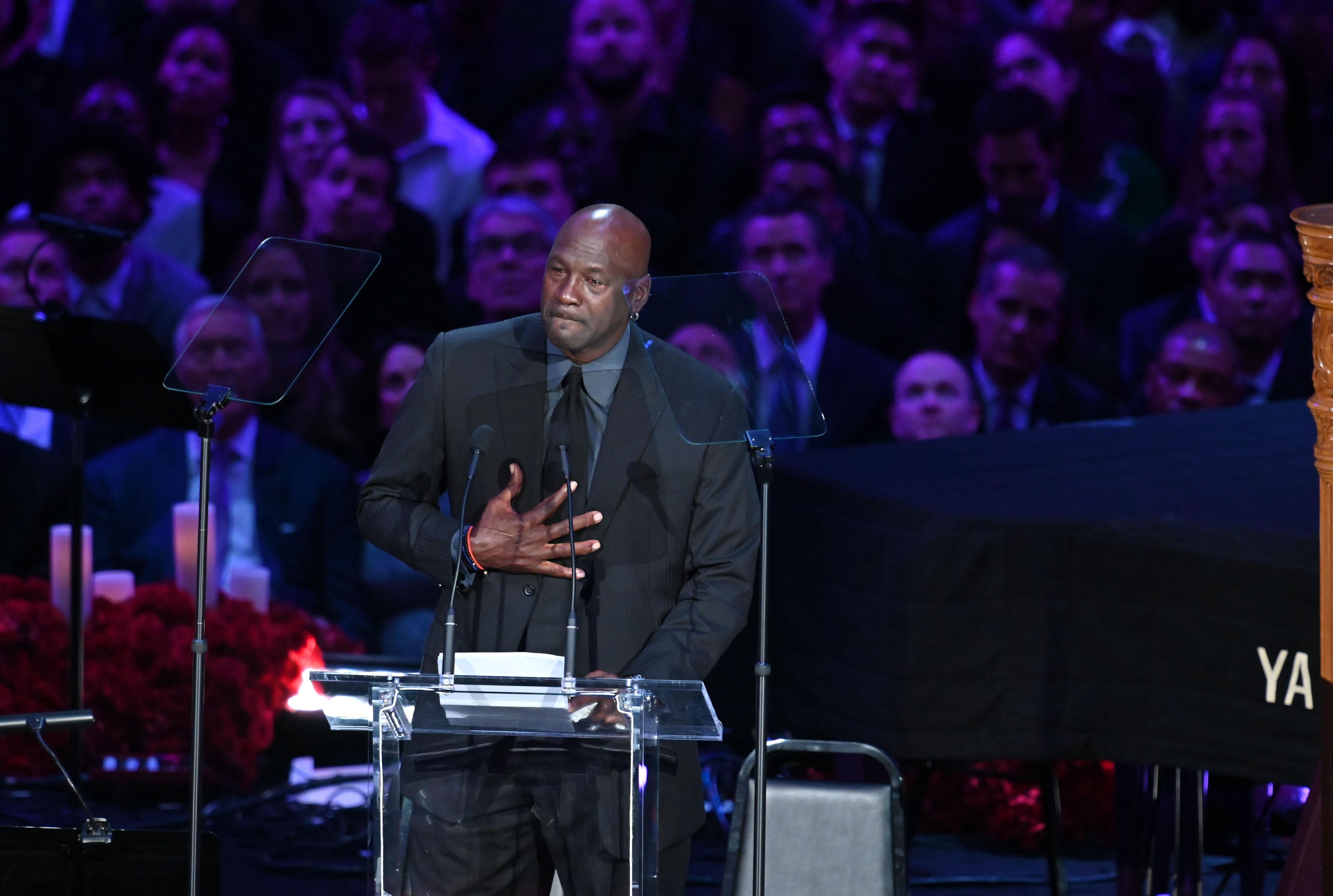 Michael Jordan actually 'took offense' to Clyde Drexler comparisons