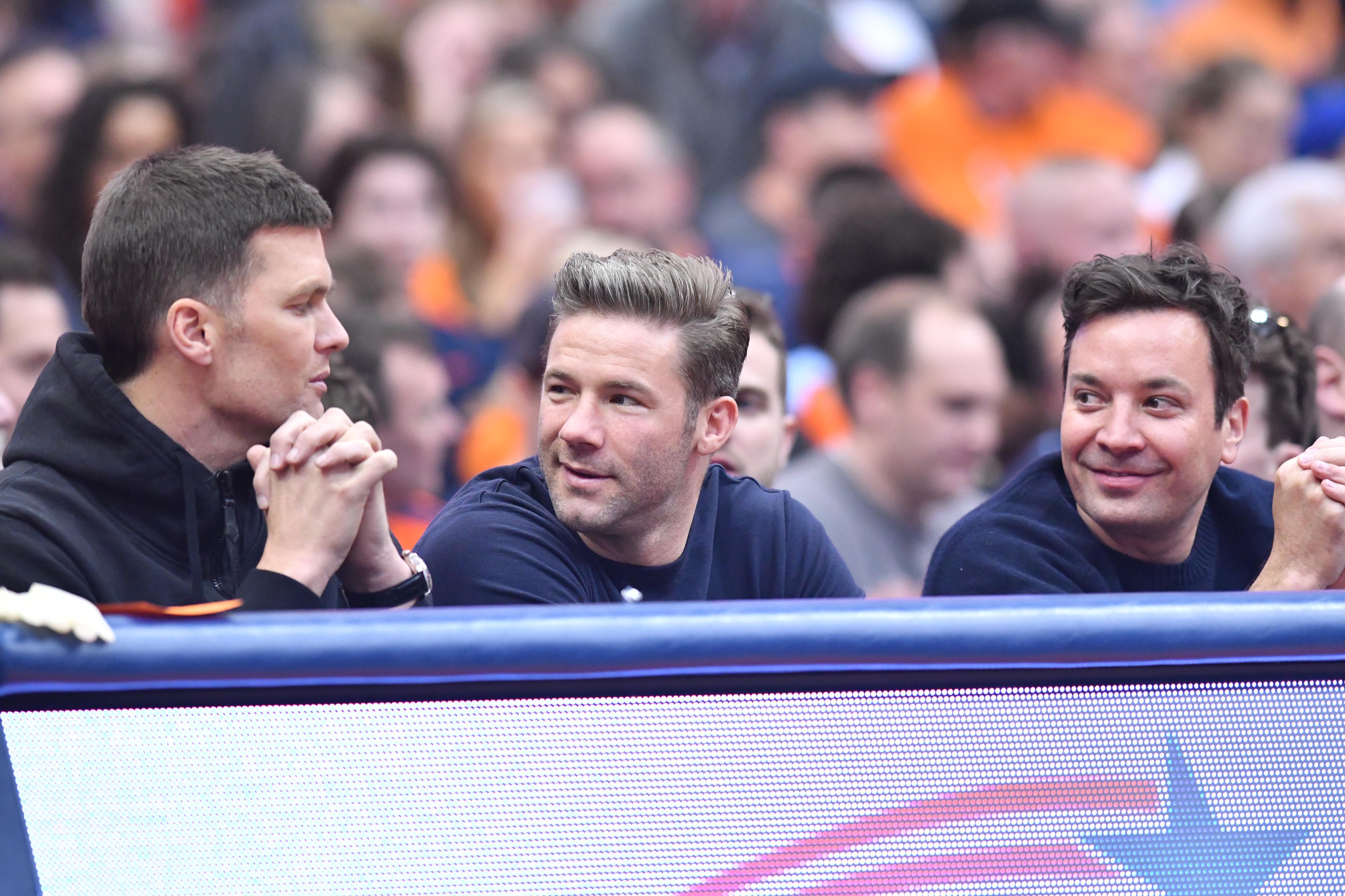 Tom Brady shoots down talk of rift with Josh McDaniels