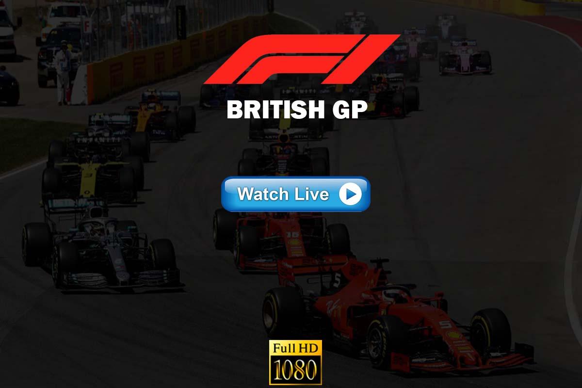 Formula 1 British Grand Prix Live Stream Reddit F1 Event 2020