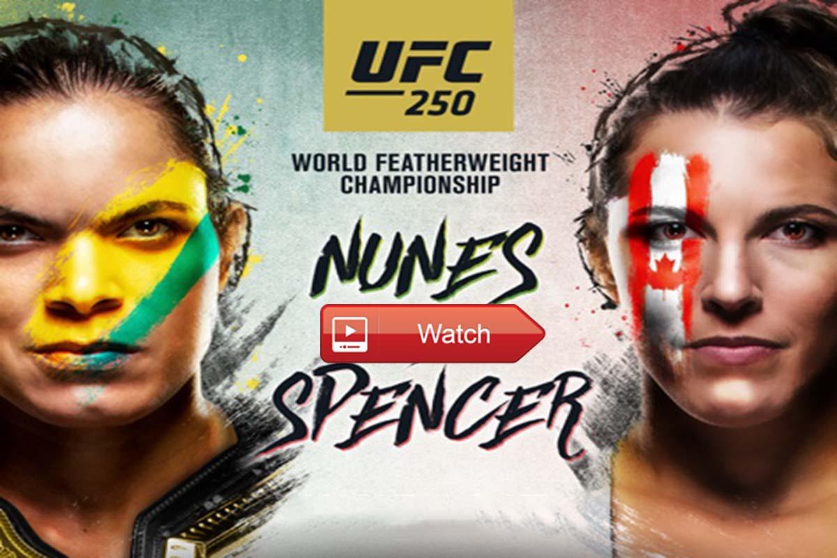 UFC 250 Live Stream Reddit
