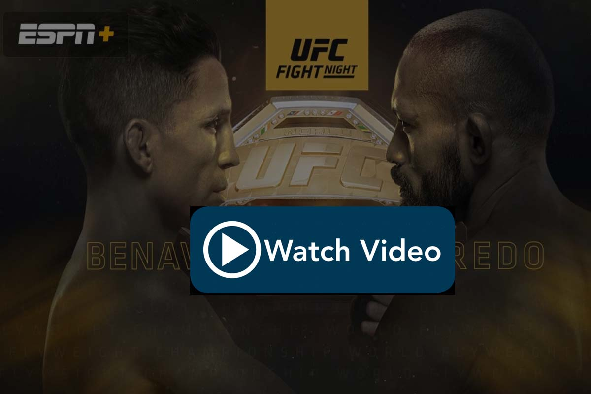 UFC Fight Night Figueiredo vs Benavidez 2 live stream Reddit