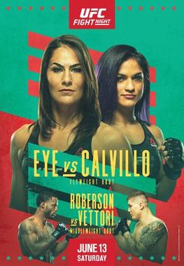 UFC Fight Night: Eye vs Calvillo Results