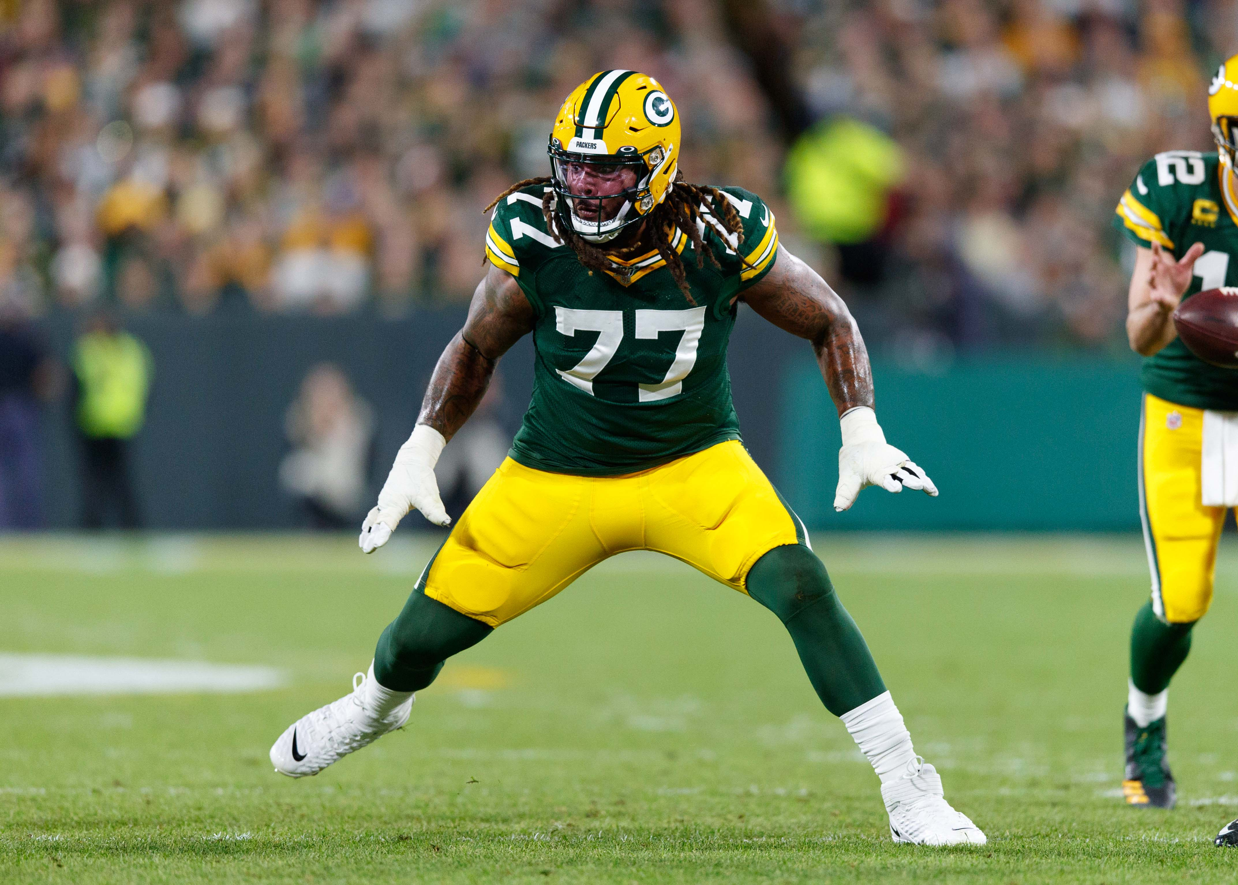 Packers OL Billy Turner Says So Much in Just a Few Words