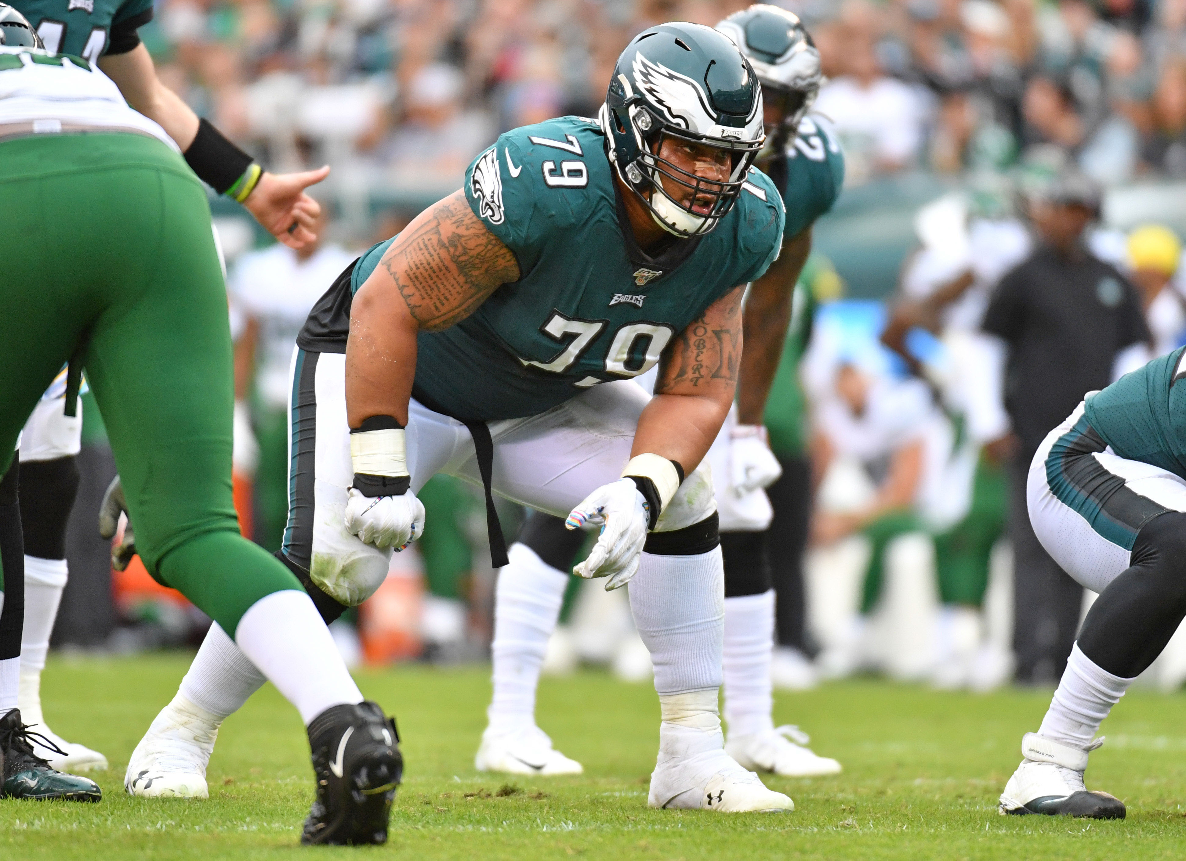 After losing Brandon Brooks, what's next for the Eagles?